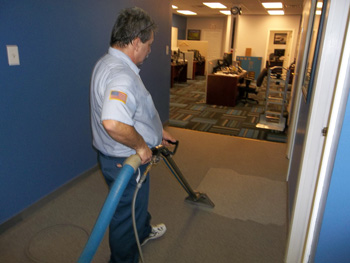 Cleaning Office Floors