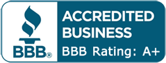 Better Business Bureau A Rating logo